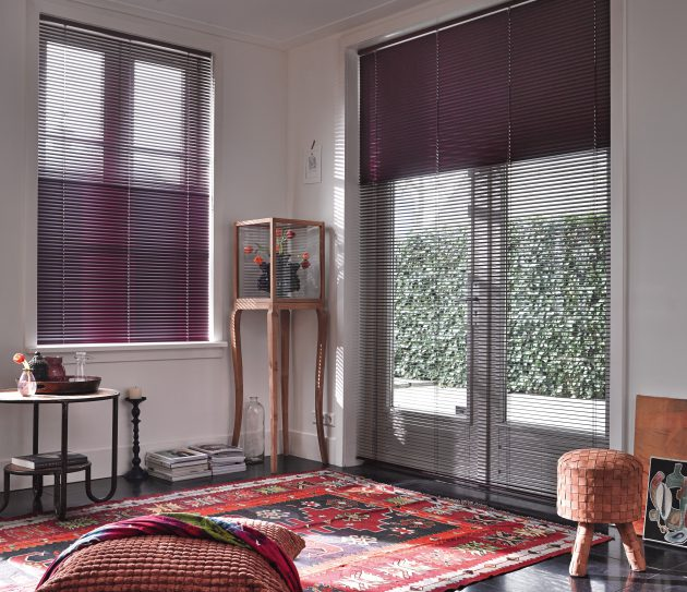 Luxaflex 25mm Grey Varioflex Metal Venetian Blind